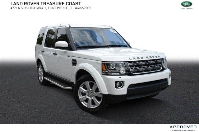 Certified Pre-Owned 2016 Land Rover LR4 Base