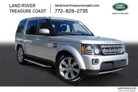 Certified Pre-Owned 2016 Land Rover LR4 HSE LUX PACKAGE