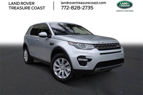 Certified Pre-Owned 2019 Land Rover Discovery Sport SE